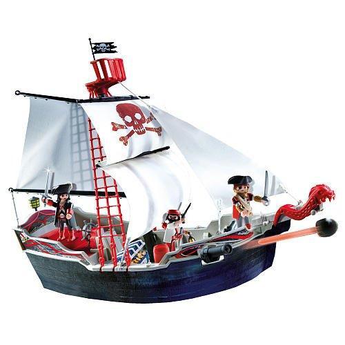 Playmobil Pirates Skull & Bones Pirate Ship Set #5950