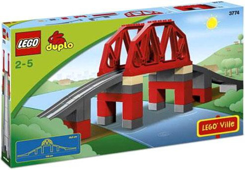 Duplo Lego Ville Train Bridge Set #3774