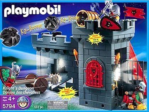 Playmobil Dragon Land Knights Dungeon Set #5794