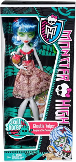 Monster High Skull Shores Ghoulia Yelps 10.5-Inch Doll