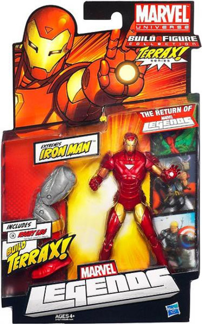 Marvel Legends 2012 Series 1 Terrax Extremis Iron Man Action Figure