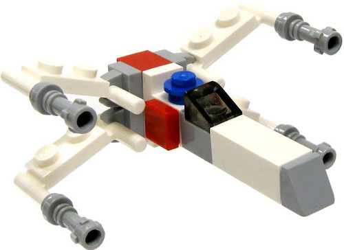LEGO Star Wars Loose Micro Vehicles X-Wing Starfighter Loose Vehicle [Micro Loose]