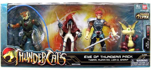Thundercats Thunder Lynx Basic Eye of Thundera Action Figure 4-Pack