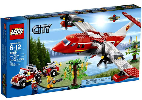 LEGO City Fire Plane Set #4209