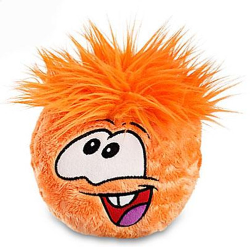Club Penguin Orange Puffle 6-Inch Plush [With Gold Coin]