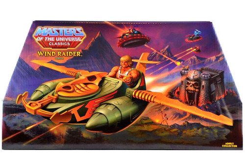 Masters of the Universe Classics Club Eternia Wind Raider Exclusive Action Figure Vehicle