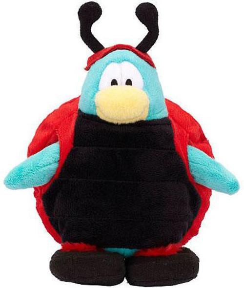 Club Penguin Series 15 Ladybug 6.5-Inch Plush Figure