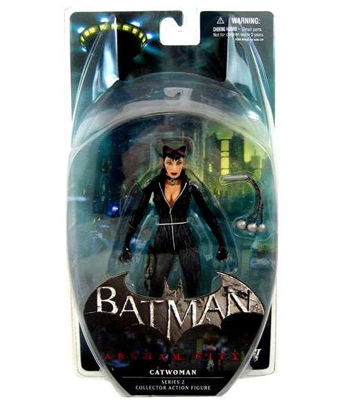Batman Arkham City Series 2 Catwoman Action Figure