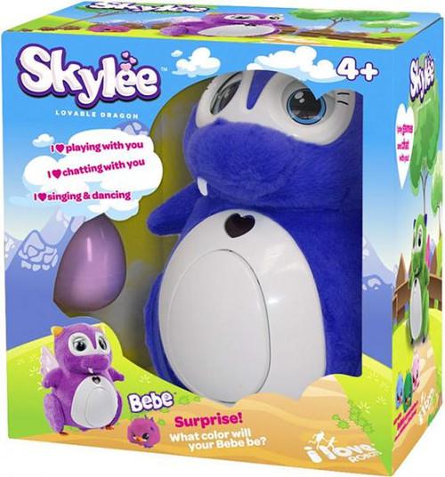 Penbo Lovable Dragon Interactive Robot [Purple]
