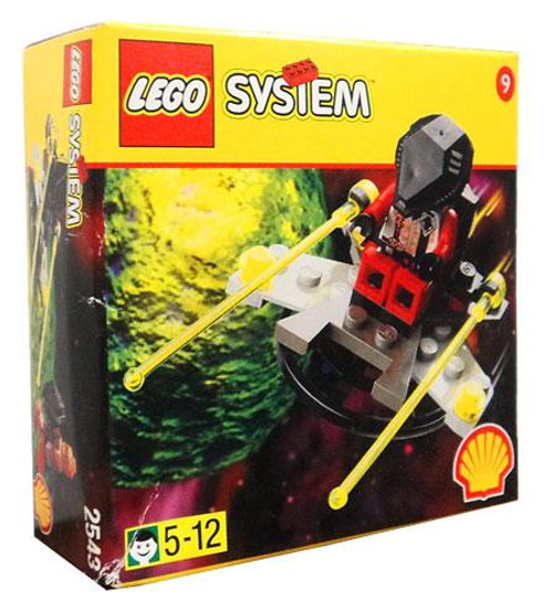 LEGO System Alien With Spaceship Set #2543