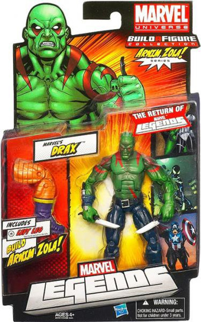 Marvel Legends 2012 Series 2 Arnim Zola Drax Action Figure