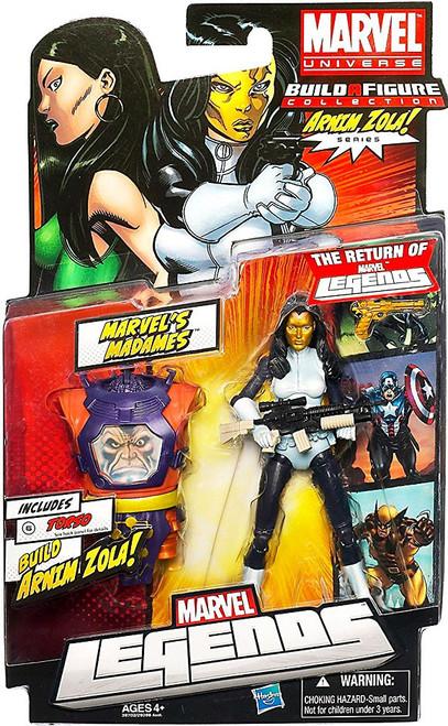 Marvel Legends 2012 Series 2 Arnim Zola Madame Masque Action Figure [White & Blue Suit]