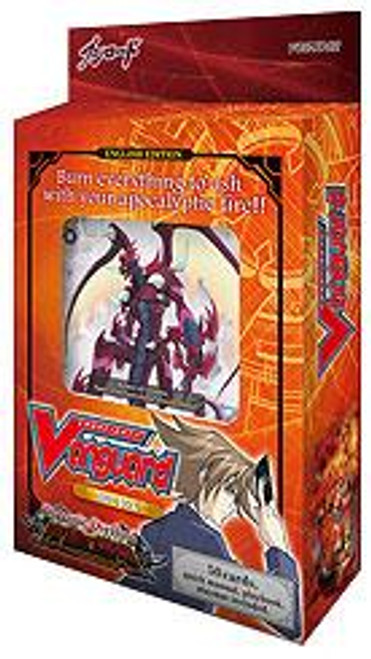 Cardfight Vanguard Dragonic Overlord Trial Deck VG-TD02 [Red]