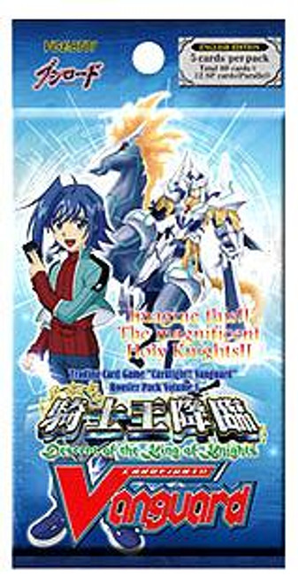Cardfight Vanguard Descent of the King of Knights Booster Pack