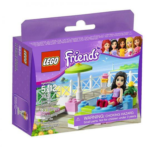LEGO Friends Emma's Splash Pool Set #3931