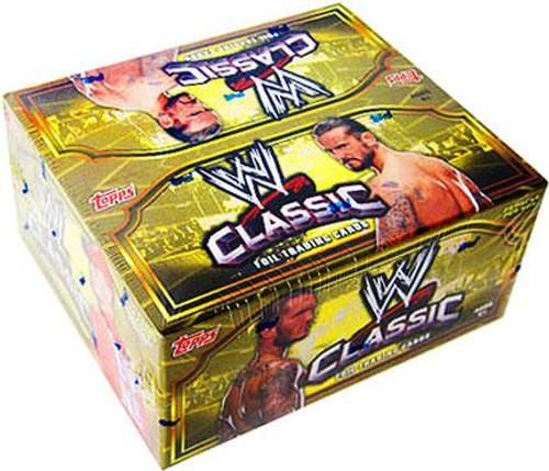WWE Wrestling 2011 WWE Classic Trading Card Box