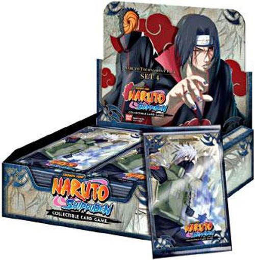 Naruto Shippuden Card Game Tournament Pack Set 4 Booster Box [24 Packs]