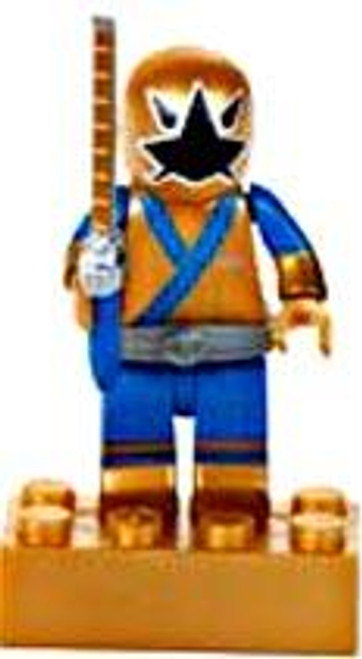 Mega Bloks Power Rangers Samurai Loose Metallic Gold Ranger Minifigure [Loose]