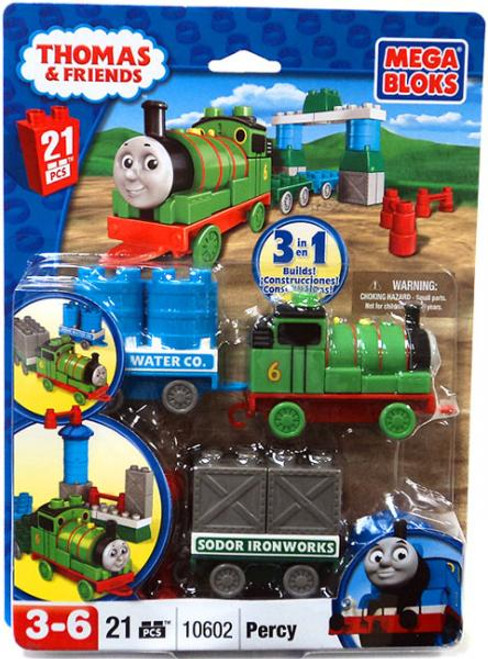 Mega Bloks Thomas & Friends Percy & Wagon Set #10602