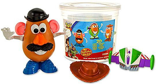 Toy Story 3 Mr. Potato Head Spud Lightyear & Woody's Tater Roundup
