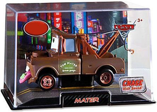 Disney Cars Cars 2 1:43 Collectors Case Wasabi Mater Exclusive Diecast Car