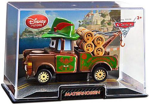 Disney Cars Cars 2 1:43 Collectors Case Materhosen Exclusive Diecast Car