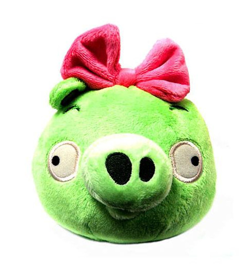 Angry Birds Neutral Girl Pig 5-Inch Plush [WIth Sound]