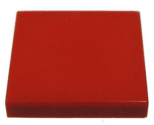 LEGO Pieces 2x2 Flat Red Tile [Loose]