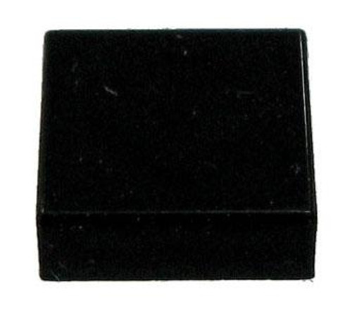 LEGO Pieces 1x1 Flat Black Tile [Loose]