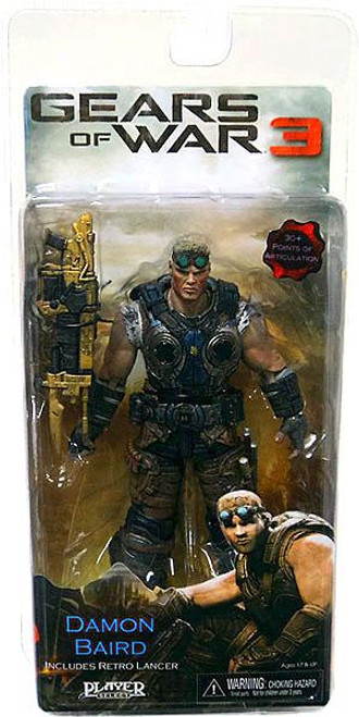 NECA Gears of War 3 Series 2 Damon Baird Action Figure [Gold Lancer]