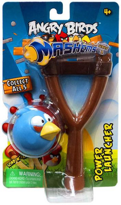 Angry Birds Mash'Ems Series 1 Blue Bird Power Launcher