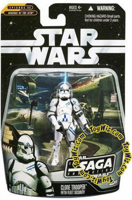 Star Wars Revenge of the Sith Saga Collection 2006 Clone Trooper Action Figure #59 [5th Fleet Security]