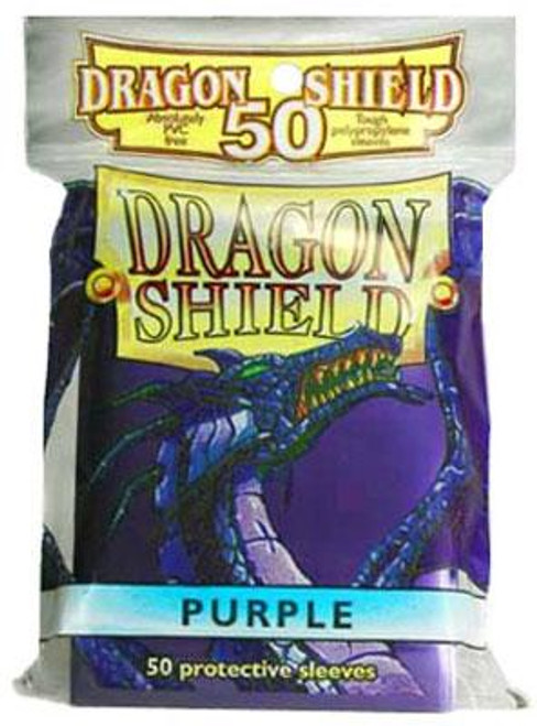 Card Supplies Dragon Shield Purple Standard Card Sleeves [50 ct]