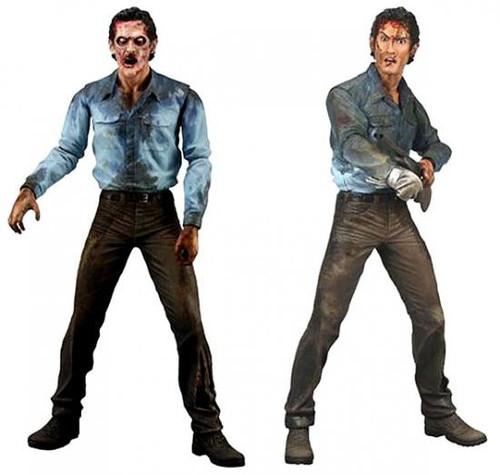 NECA Set of 2 Evil Dead 2 Action Figures