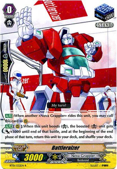 Cardfight Vanguard Descent of the King of Knights Rare Battleraizer BT01-032