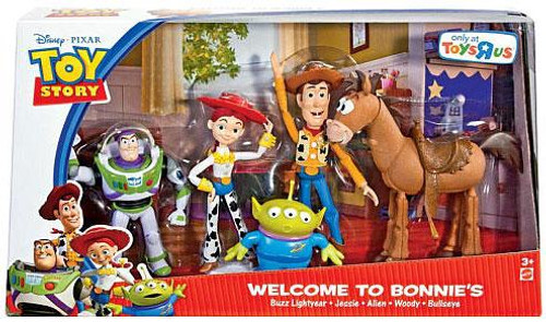 Toy Story Welcome To Bonnie's Exclusive Action Figure Set