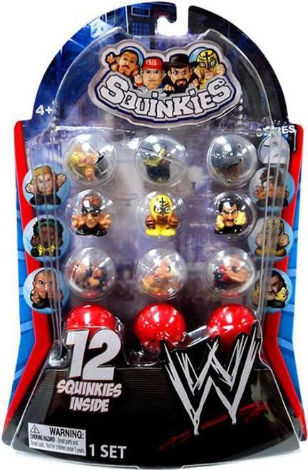 WWE Wrestling Series 2 Squinkies 12-Pack Mini Figures