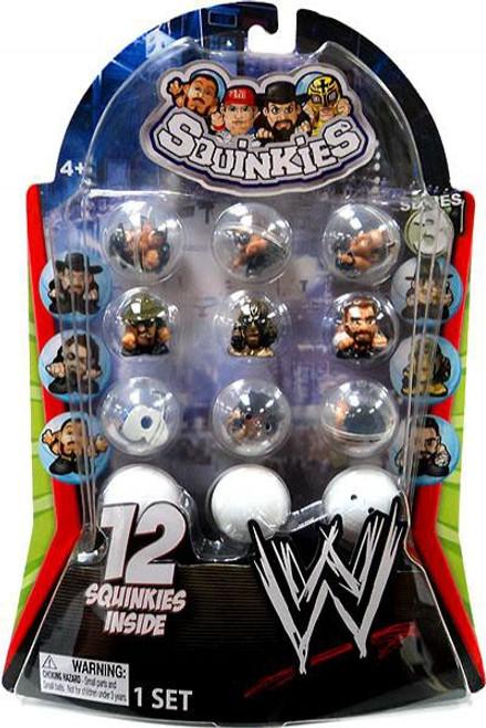 WWE Wrestling Series 3 Squinkies 12-Pack Mini Figures
