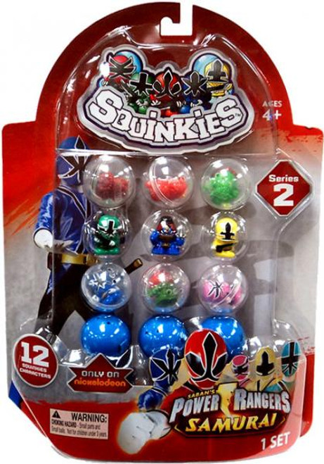 Samurai Power Rangers Squinkies Series 2 Mini Figures
