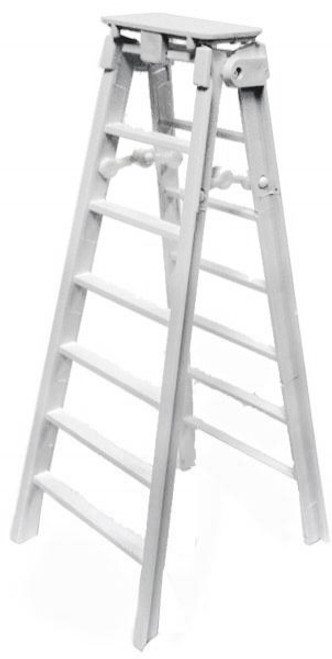 WWE Wrestling Ladder Action Figure Accessory [White Loose]