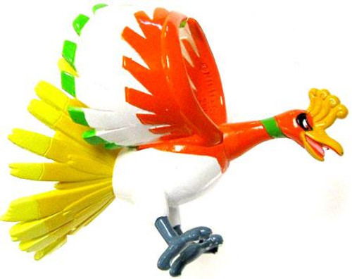 Pokemon Diamond & Pearl Monster Collection Ho-Oh PVC Figure MC-46 [Japanese, Loose]