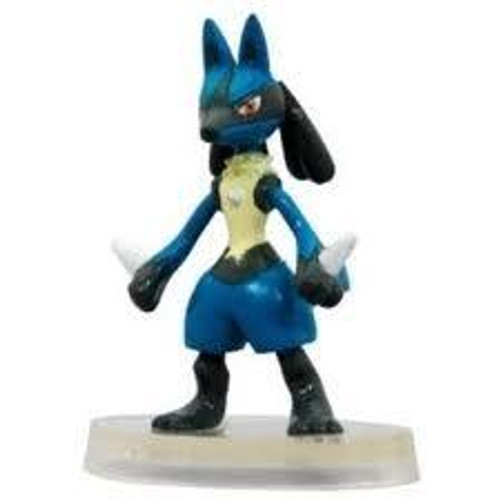 Pokemon Japanese Monster Collection Advanced Generation Lucario PVC Figure #448