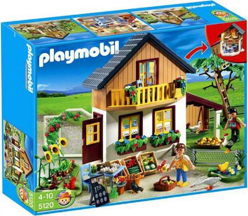 Playmobil Farm House with Market Set #5120
