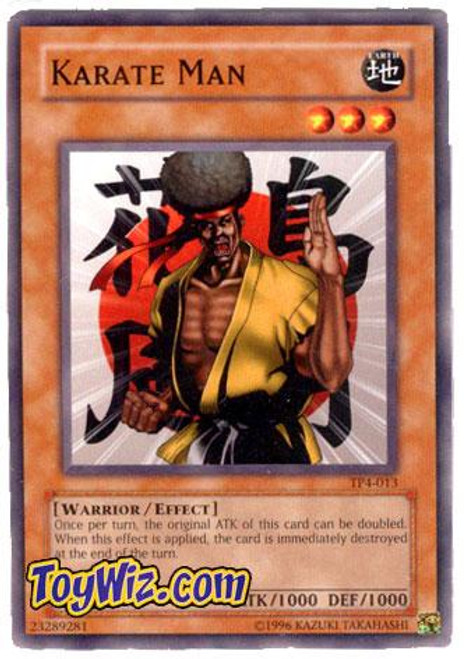 YuGiOh Tournament Pack 4 Common Karate Man TP4-013