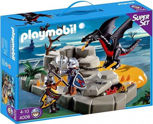 Playmobil Dragon Land Super Set Dragon`s Lair Set #4006
