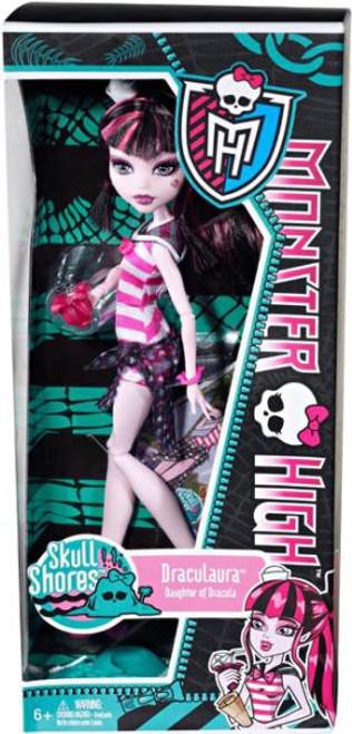 Monster High Skull Shores Draculaura 10.5-Inch Doll