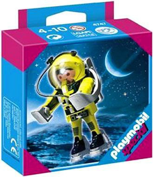 Playmobil Special Yellow Astronaut Set #4747