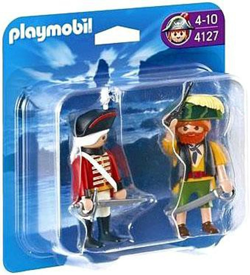 Playmobil Pirates Pirate and Redcoat Soldier Set #4127
