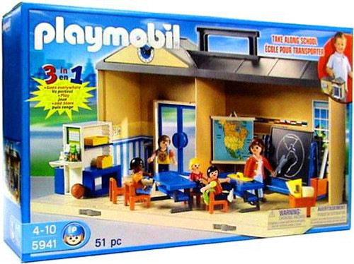 Playmobil Take Along School Set #5941