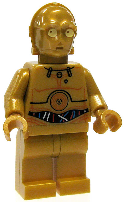LEGO Star Wars Loose C-3PO Minifigure [Color Printed Details Loose]